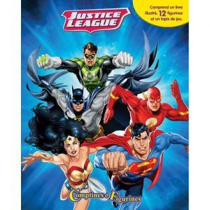 Editions Phidal Comptines et figurines DC Ligue Justiciers