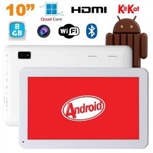"Yonis Tablette tactile 10"" 8 Go Quad Core sous Android KitKat Bluetooth"