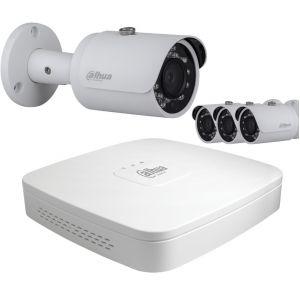 Dahua Kit vidéo surveillance HD CVI 4 caméras 1080P