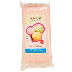 FunCakes Pâte à sucre - rose - 1kg