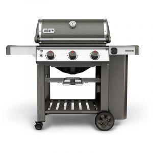 Weber Barbecue gaz Genesis II E-310 GBS GasGrill smoke grey