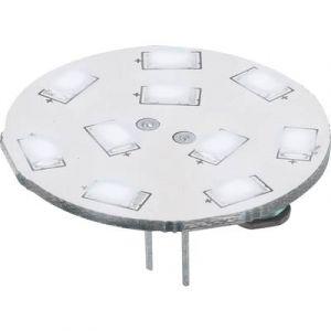 Renkforce Ampoule LED G4 9283c74b à broches 1.5 W = 15 W blanc froid (Ø x L) 30 mm x 16.75 mm EEC: A 1 pc(s)