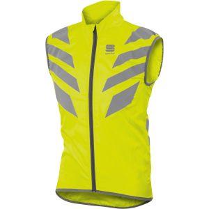 Sportful Reflex Vest - Gilet vélo taille XXL, jaune