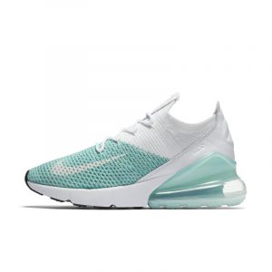 Nike Air Max 270 Flyknit W turquoise blanc 40 EU