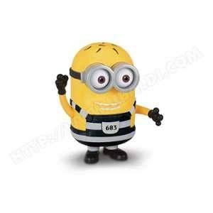 Mondo MTW Toys Figurine géante parlante Minions : Tom tenue de prisonnier