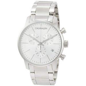 Calvin Klein Montre Bracelet Quartz chronographe Acier Inoxydable k2g27146