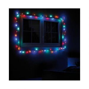 Lunartec Guirlande multicolore 100 LED