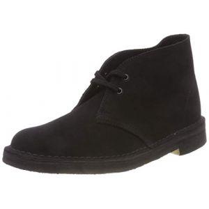 Clarks Originals - Desert Boot - Bottes - Homme - Noir (Black) - 46 EU