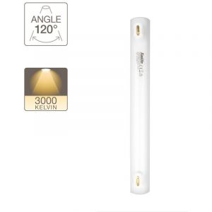 Xanlite Tube LED S14, 5,5W .cons (35W .eq), lumière blanche chaude