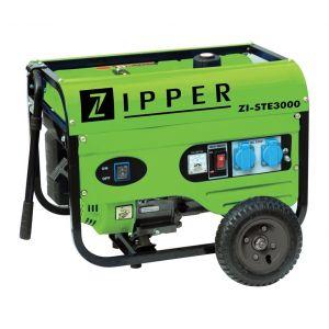 Zipper ZI-STE3000 - Groupe électrogène Essence 4800W 230/400V Kit brouette