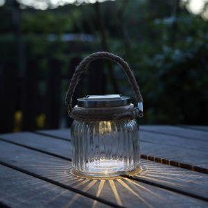 Lampe de table solaire JAR GLASS - STAR