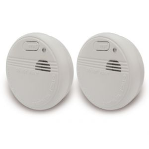 Otio 520033 - 2 détecteurs de fumée (certifiés EN14604 / NF)