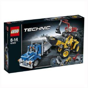 Lego 42023 - Technic : L'équipe de construction