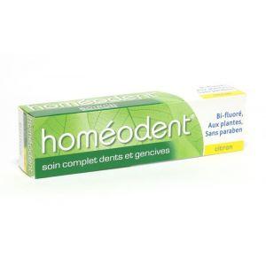 Boiron Homéodent - Dentifrice soin complet dents et gencives au citron