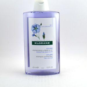 Klorane Shampooing aux fibres de lin - 400 ml