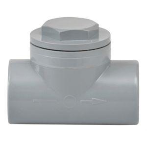 GIRPI Clapet anti-retour à coller en PVC, Femelle/Femelle D40