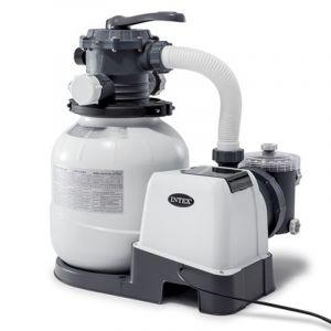 Intex Platine de filtration à sable Modèle - 6 m3/h (piscine jusqu?à 36 m3)