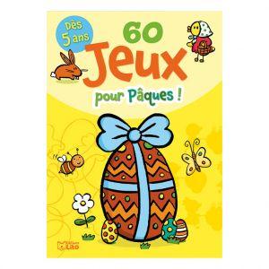 Editions Lito 60 Jeux Pour Pâques ! Bloc Jeux 5 ans