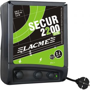 Lacme Electrificateur SECUR 2200 HTE