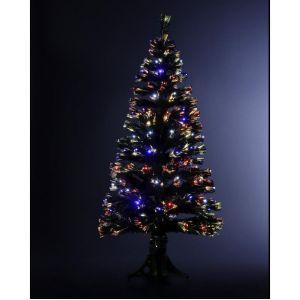 Johnson - Sapin de Noël en fibre optique (120 cm)