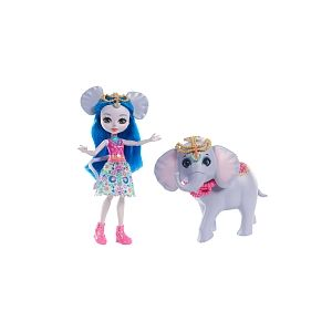 Mattel Enchantimals Balade Zoo Eléphant Ekaterina