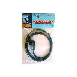 Wpro H 05 RRF 3G4 - Câble pour appareils de cuisson avec prose et embout serti (1m45)