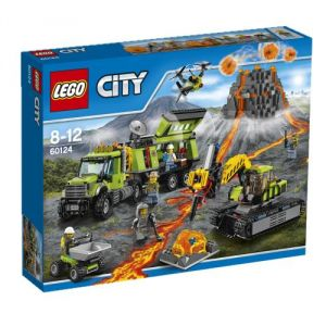 Lego 60124 - City : La base d'exploration du volcan