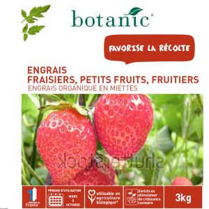 Botanic Engrais fraisiers, petits fruits, fruitiers 3kg