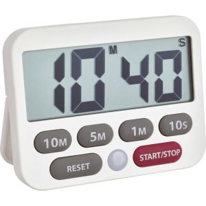 TFA Dostmann 38.2038.02 Minuteur blanc numérique