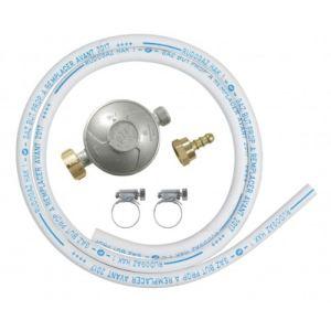 Image de Ribitech DG170TC75/B - Kit tube souple butane avec 1 détenteur, 1 tétine et 1 tube souple 1m50