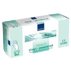 Abena 100 gants en vinyl non poudrés - Small 6/7