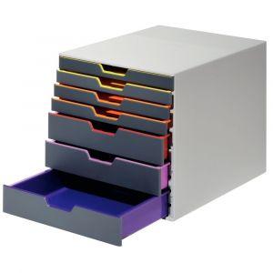 Durable Module de classement Varicolor 7 tiroirs 7607-27