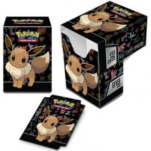 Asmodée Boîte rangement Pokémon Ultra-Pro Deck Box Evoli