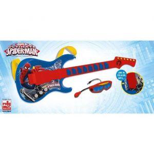 Reig Musicales Guitare et micro Spiderman