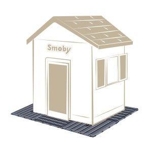 Smoby Set de 6 dalles 45 x 45 cm - plancher maison