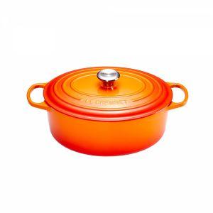 Le Creuset 21178290902430 - Cocotte en fonte ovale 29 cm