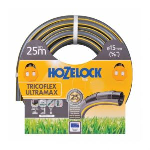 Hozelock Tuyau d'arrosage Tricoflex Ultramax (19 - 25) - Ø mm : 19 - Longueur m : 25