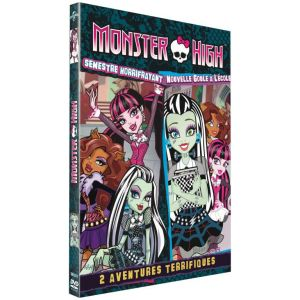 Coffret Monster High Fang-tastic : Semestre horrifrayant + Nouvelle Goule à l'école