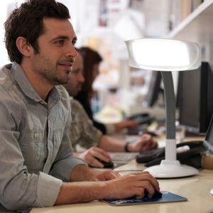 Lumie Lampe de bureau de luminothérapie Bio