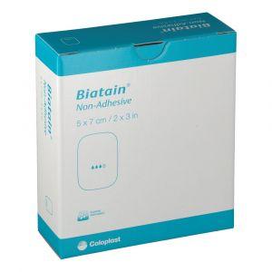 Coloplast Biatain non-adhesive 5 x 7 cm