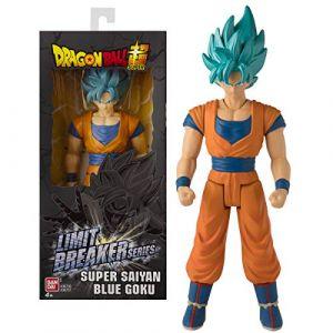 Bandai DRAGON BALL SUPER - Figurine Géante Limit Breaker 30 cm - Super Saiyan Goku Blue