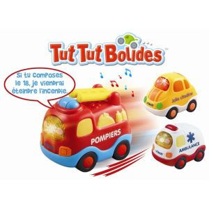 Vtech Tut Tut Bolides Coffret Trio n°2