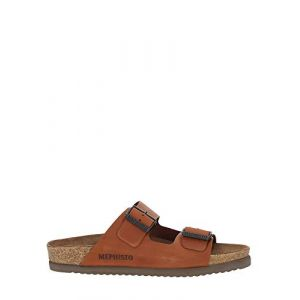 Mephisto Mules nerio - Couleur 40,41,42,43,44,45,46,47,48 - Taille Marron