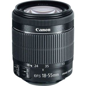 Canon EF-S 18-55 mm f/3.5-5.6 IS STM : Objectif à zoom