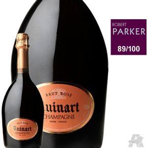 Ruinart Champagne AOP, rosé - La bouteille de 75cl avec étui