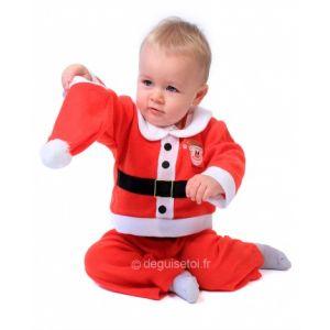 Déguisement Père Noël garcon 12 mois