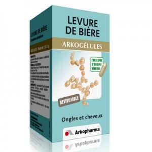Arkopharma Arkogélules Levure de Bière - Revitalisant ongles et cheveux