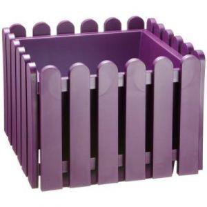 Emsa 508746 Landhaus Bac À Fleurs Violet 38 X 38 Cm