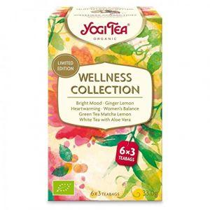 Yogi Tea Coffret Infusions Wellness Collection 6 x 3 sachets