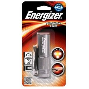 Energizer 3 LED Metal Light